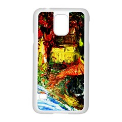 St Barbara Resort Samsung Galaxy S5 Case (white)