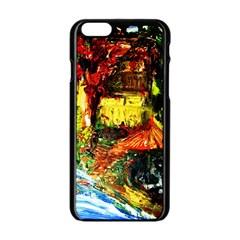 St Barbara Resort Apple Iphone 6/6s Black Enamel Case by bestdesignintheworld