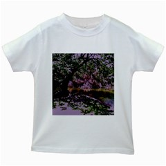 Old Tree 6 Kids White T Shirts