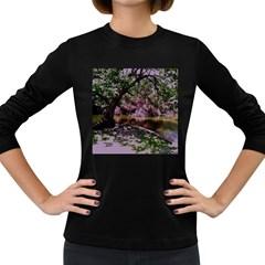 Old Tree 6 Women s Long Sleeve Dark T Shirts