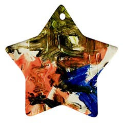 Painting And Letters Ornament (star)