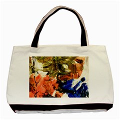 Painting And Letters Basic Tote Bag