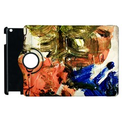 Painting And Letters Apple Ipad 3/4 Flip 360 Case