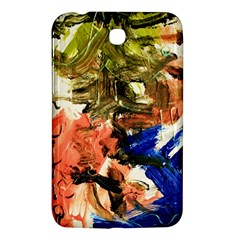 Painting And Letters Samsung Galaxy Tab 3 (7 ) P3200 Hardshell Case