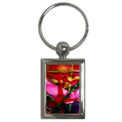 Red Cross 6 Key Chains (rectangle)