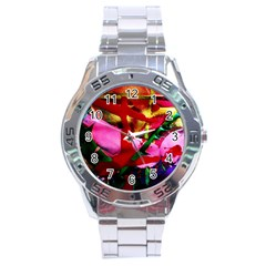 Red Cross 6 Stainless Steel Analogue Watch