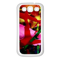 Red Cross 6 Samsung Galaxy S3 Back Case (white)