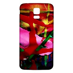 Red Cross 6 Samsung Galaxy S5 Back Case (white)