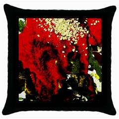 Piggy Bank 3 Throw Pillow Case (black)