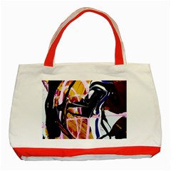 Immediate Attraction 2 Classic Tote Bag (red)