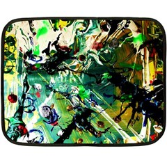 Jealousy   Battle Of Insects 4 Double Sided Fleece Blanket (mini)