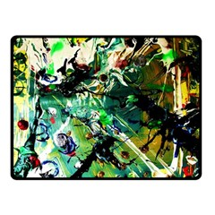 Jealousy   Battle Of Insects 4 Double Sided Fleece Blanket (small)