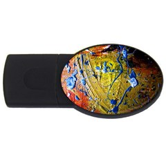 Lunar Eclipse 5 Usb Flash Drive Oval (2 Gb)