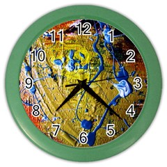 Lunar Eclipse 5 Color Wall Clocks