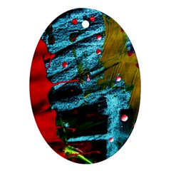 Totem 1 Oval Ornament (two Sides) by bestdesignintheworld