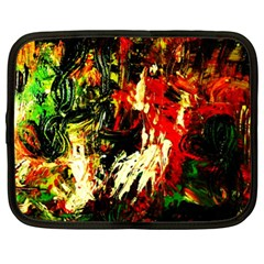 Sunset In A Desert Of Mexico 1 Netbook Case (xl)  by bestdesignintheworld