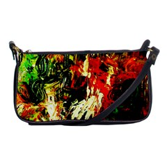 Sunset In A Desert Of Mexico 1 Shoulder Clutch Bags