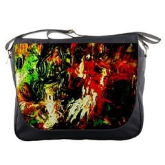 Sunset In A Desert Of Mexico 1 Messenger Bags by bestdesignintheworld