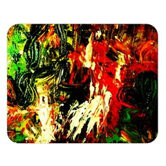 Sunset In A Desert Of Mexico 1 Double Sided Flano Blanket (large)