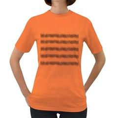 Stripe Black Women s Dark T Shirt