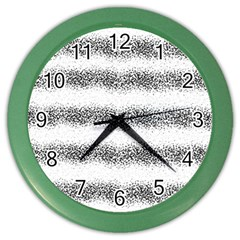 Stripe Black Color Wall Clocks