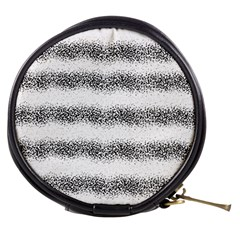 Stripe Black Mini Makeup Bags