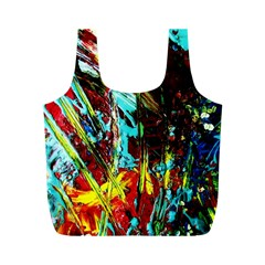 Two Hearts   One Beat 4 Full Print Recycle Bags (m)