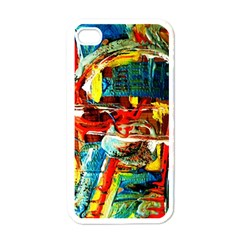 Red Plane 1 Apple Iphone 4 Case (white)