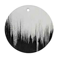 Simple Abstract Art Ornament (round)