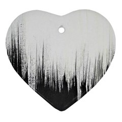 Simple Abstract Art Ornament (heart)