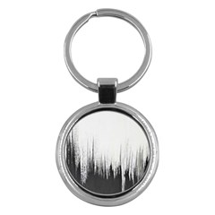 Simple Abstract Art Key Chains (Round)