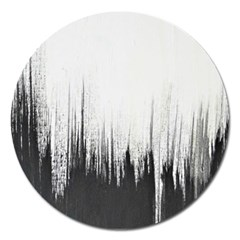 Simple Abstract Art Magnet 5  (Round)