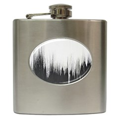 Simple Abstract Art Hip Flask (6 Oz)