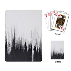 Simple Abstract Art Playing Card