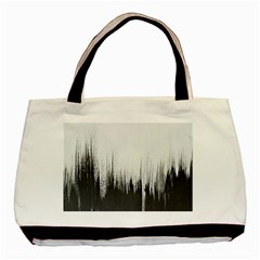 Simple Abstract Art Basic Tote Bag