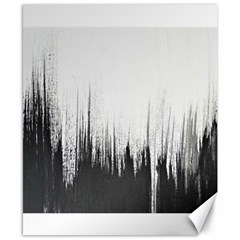 Simple Abstract Art Canvas 8  x 10