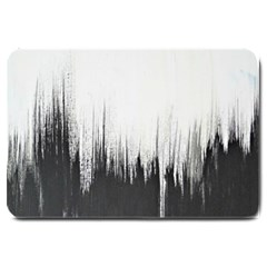 Simple Abstract Art Large Doormat