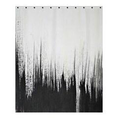 Simple Abstract Art Shower Curtain 60  x 72  (Medium)