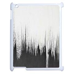 Simple Abstract Art Apple iPad 2 Case (White)