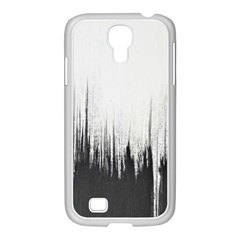 Simple Abstract Art Samsung GALAXY S4 I9500/ I9505 Case (White)