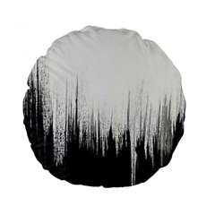 Simple Abstract Art Standard 15  Premium Flano Round Cushions