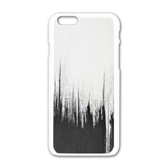 Simple Abstract Art Apple Iphone 6/6s White Enamel Case
