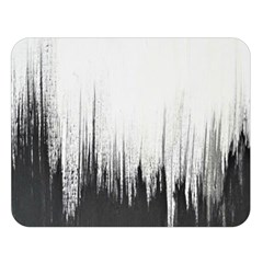 Simple Abstract Art Double Sided Flano Blanket (Large)