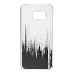 Simple Abstract Art Samsung Galaxy S7 White Seamless Case
