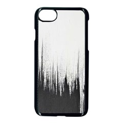 Simple Abstract Art Apple iPhone 7 Seamless Case (Black)