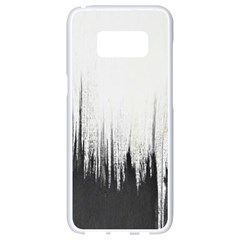 Simple Abstract Art Samsung Galaxy S8 White Seamless Case