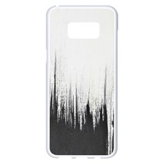 Simple Abstract Art Samsung Galaxy S8 Plus White Seamless Case