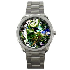 Bow Of Scorpio Before A Butterfly 8 Sport Metal Watch