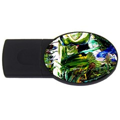 Bow Of Scorpio Before A Butterfly 8 Usb Flash Drive Oval (4 Gb) by bestdesignintheworld