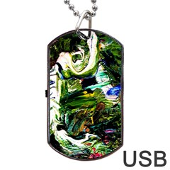 Bow Of Scorpio Before A Butterfly 8 Dog Tag Usb Flash (one Side)
